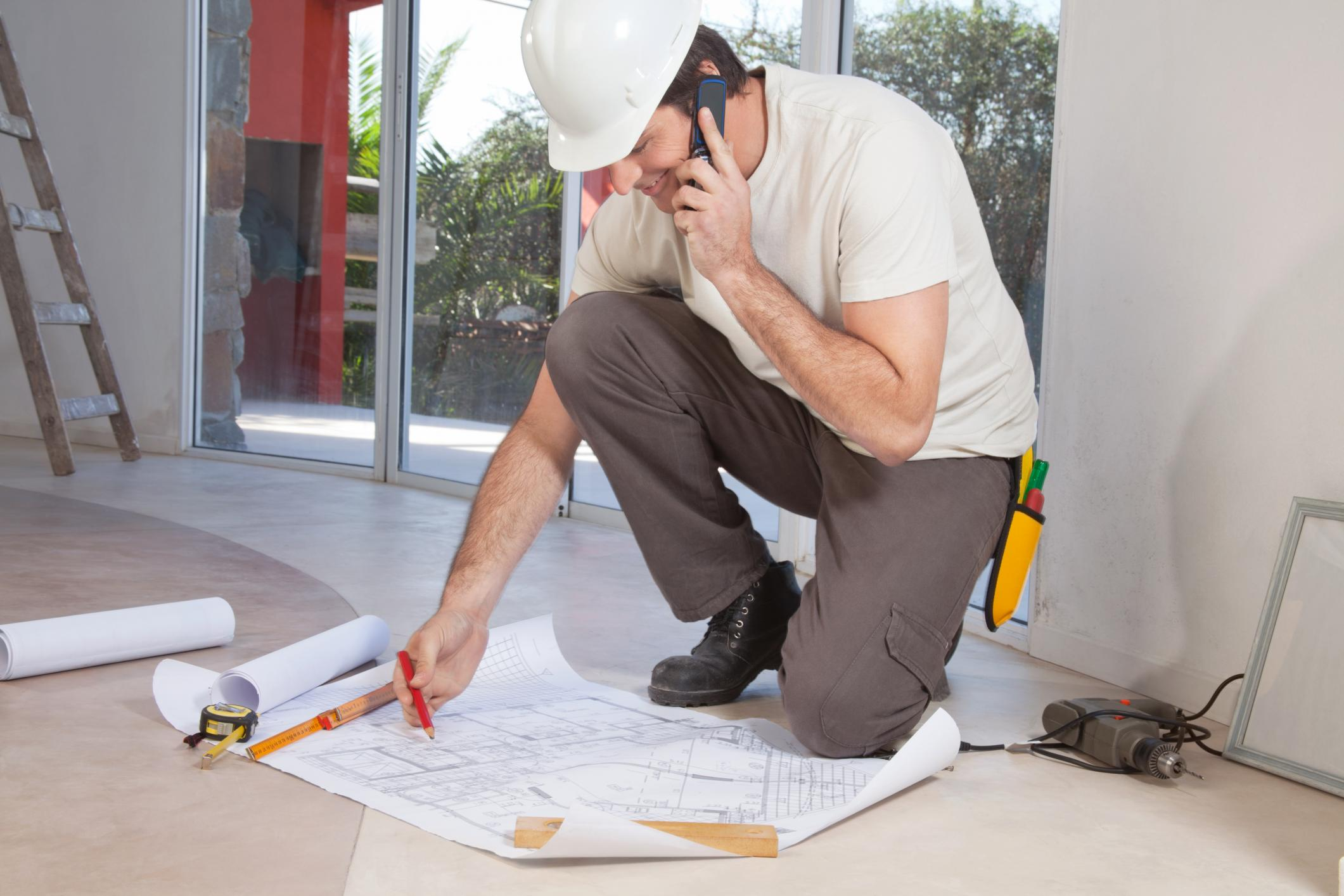 This is a picture of a general contractor.